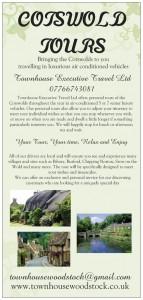 Cotswold Tourism Leaflet portrait